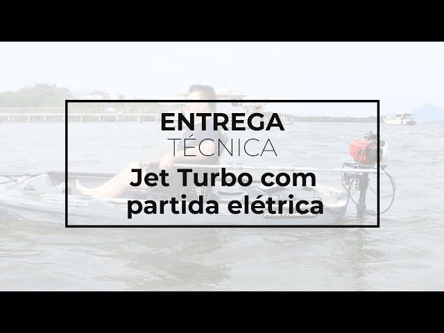 131 - Entrega Técnica Jet Turbo com partida elétrica