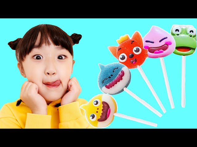 Baby Shark Pororo Chocolate Candy Finger Song Nursery Rhymes 뽀로로 아기상어 핑거송 - 슈슈토이 Shushu ToysReview