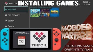 Episode 2 covers how to install .NSP & .XCI file games on your Nint...