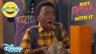 Just Roll With It | SNEAK PEEK: Huge Lizard 😱 | Disney Channel UK