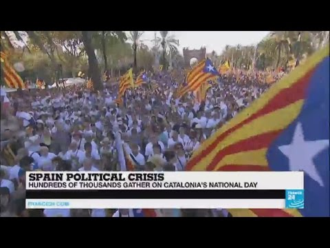 Spain: Catalonia's national day, an occasion to call for a referendum on independence