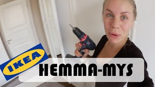 HEMMA-MYS & IKEA-MÖBLER | vlog