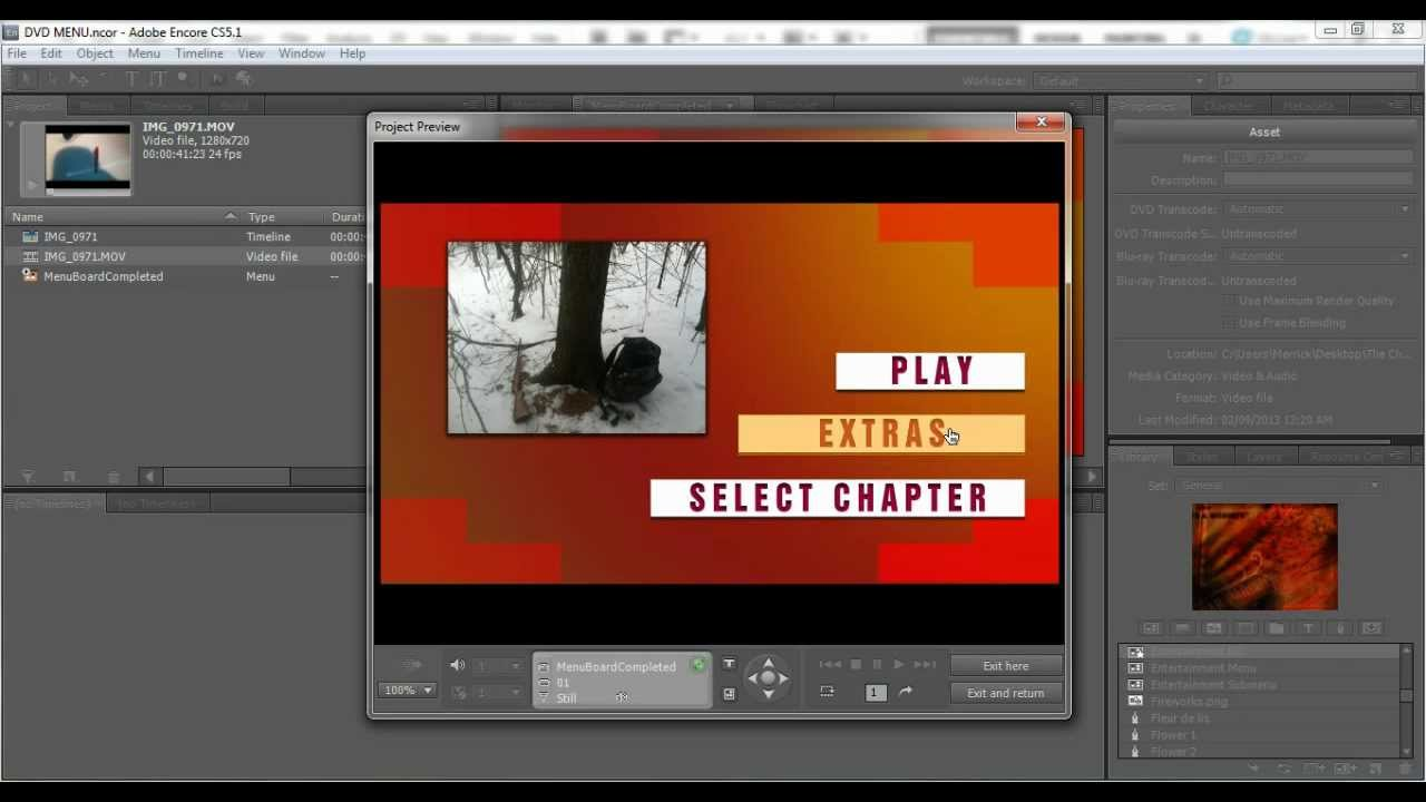 create dvd menu with adobe encore youtube rh youtube com Adobe Encore CS5 Full Espanol adobe encore cs6 user manual