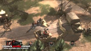 The Expendables 2 Videogame Gameplay (PC HD)