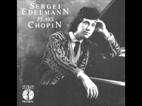 SERGUEI EDELMANN plays CHOPIN Polonaise-Fantaisie Op.61 (1986)