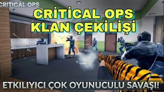 Critical ops klan alımı | Critical ops çekiliş
