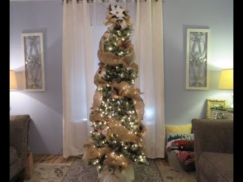 Tricias Christmas My Tree Part 1 Bow Topper Bows And Streamers