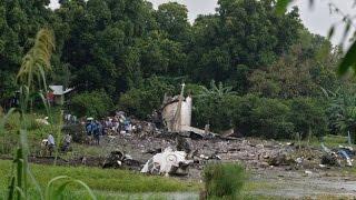 南スーダン飛行機の墜落事故は、貨物機は、ナイル川の東岸にジュバ空港近くに墜落しました