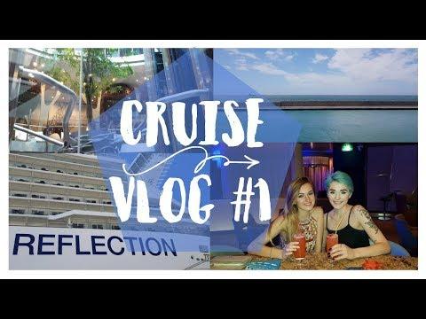 Celebrity Cruise Vlog #1: Boarding Celebrity Reflection!