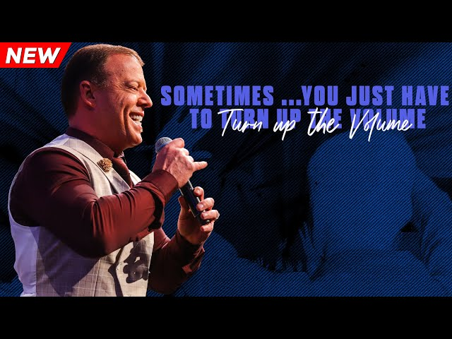 Sometimes...You Just Have To Turn Up The Volume | Pastor At Boshoff | 10 November 2019 AM