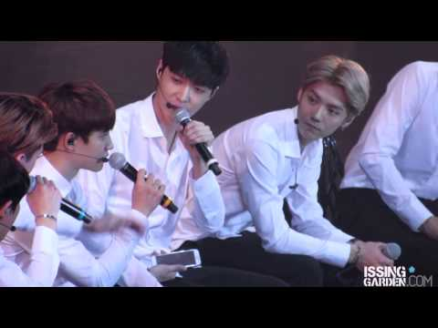 【IsSing Garden】140817 Talk LAY Focus - Samsung Galaxy Music Festival in Nanjing China