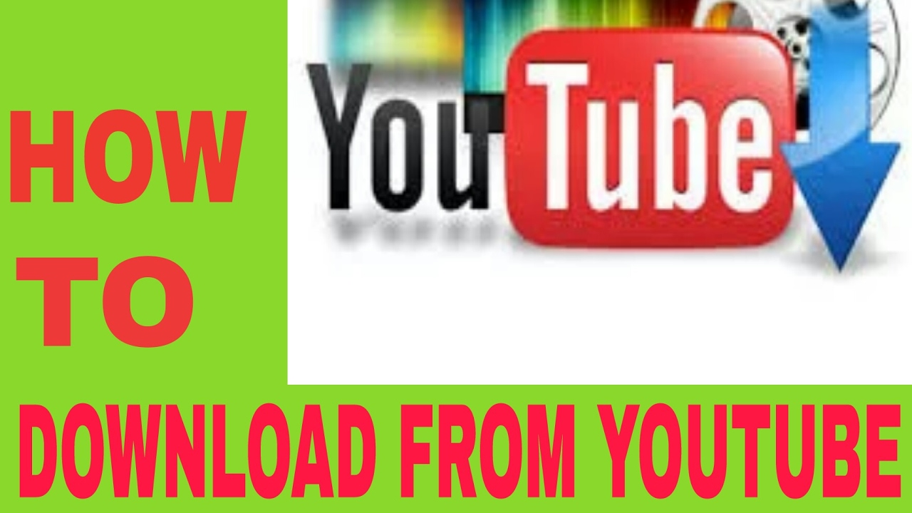 how to download video from youtube without application