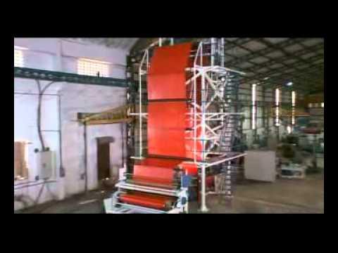 видео: Производство полиэтиленовой пленки 1200-2500 мм