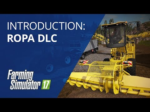 Farming Simulator 17 ROPA DLC Vehicles Introduction