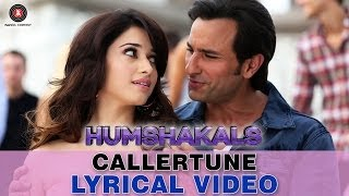 """Caller Tune"" Humshakals Lyrical HD Video song ft. Saif, Tamannaah ,Bipasha, Riteish"