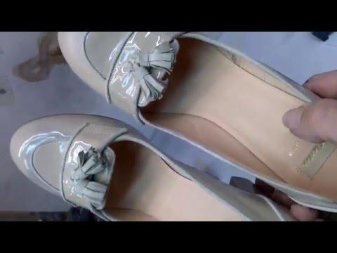Как вывести пятна на лаковой обуви фото