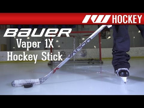 750a0593399 Bauer Vapor 1X Hockey Stick On-Ice Review - YouTube
