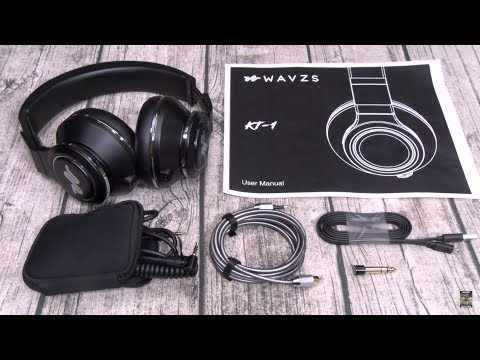 The Worlds Loudest Bluetooth Headphones Wavzs Kt 1 Youtube