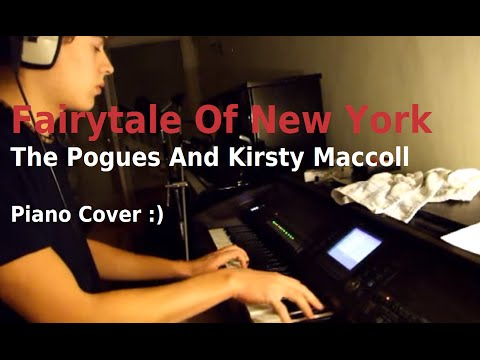 Fairytale Of New York The Pogues And Kirsty MacColl Piano Cover