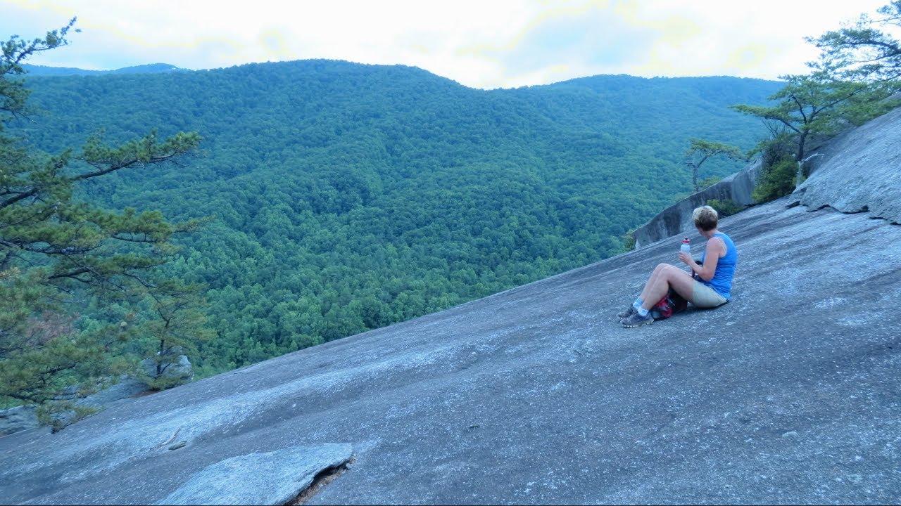Hiking Stone Mountain State Park Elkin North Carolina Youtube