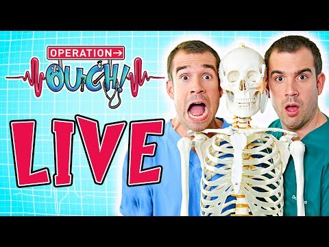OPERATION OUCH - LIVE SCIENCE FOR KIDS