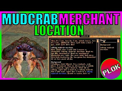 Elder Scrolls III: Morrowind - Where to find the Mudcrab Mer