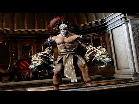 God of War 3 Remastered Hercules Boss Fight PS4 (1080p 60fps)