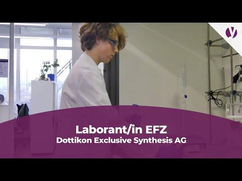 Lehrstelle als Laborant/in EFZ bei der Dottikon Exclusive Synthesis AG