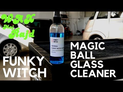 FUNKY WITCH MAGIC BALL GLASS CLEANER