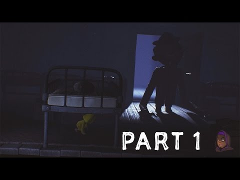 Little Nightmares Walkthrough Part 1 - The Prison (PlayStation 4)