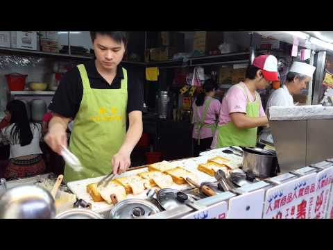 Taiwanese food: How to prepare filled toast bread