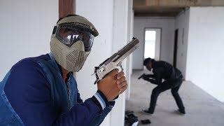 ยิงกันเพื่อเงินแสน! สงครามบีบีกันที่บ้านร้าง