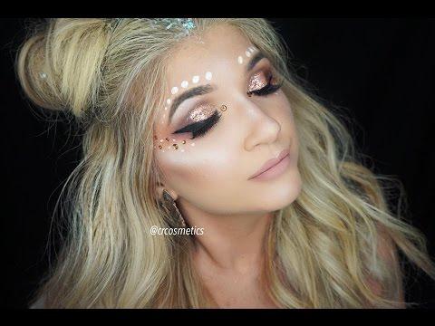 e7f5d586bb5 Festival Makeup Ideas With Glitter | Saubhaya Makeup
