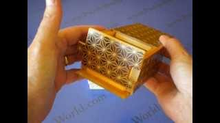 A Look At The 4 Sun 21 Step Kuroasa Japanese Puzzle Box