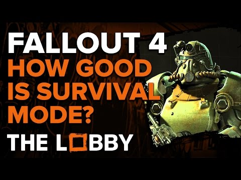 How Good is Fallout 4 Survival Mode? - The Lobby