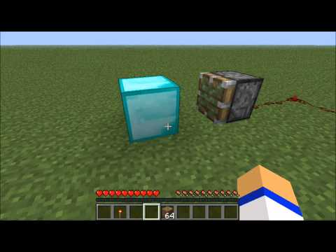Minecraft: How to make a diamond generator!