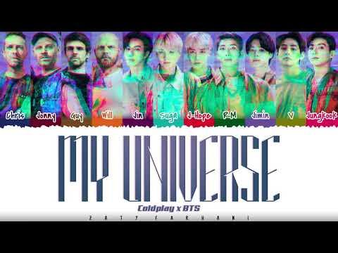 Coldplay X BTS - 'MY UNIVERSE' Lyrics [Color Coded_Han_Rom_Eng]