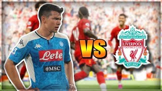 "HIRVING ""CHUCKY"" LOZANO VS LIVERPOOL FC 