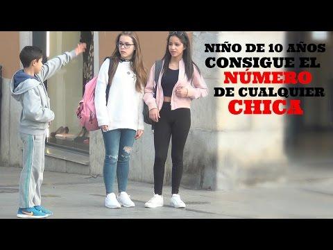 ¡NIÑO DE 10 AÑOS CONSIGUE NÚMEROS DE CHICAS GUAPAS!