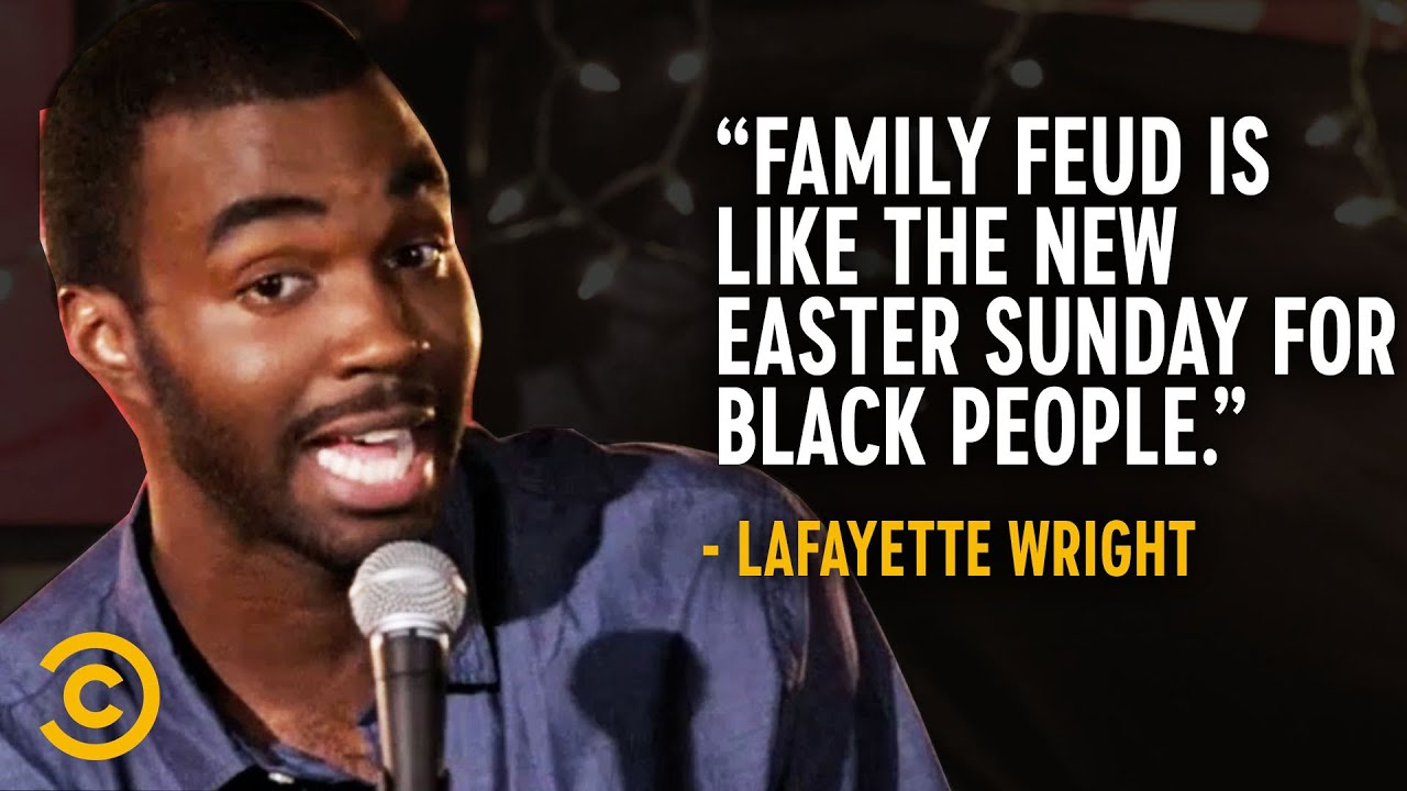"""Black People Stole """"Family Feud"""" from White People - Lafayette Wright"""