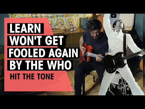 Hit The Tone   Won't Get Fooled Again by The Who (Pete Townshend)   Ep.70   Thomann