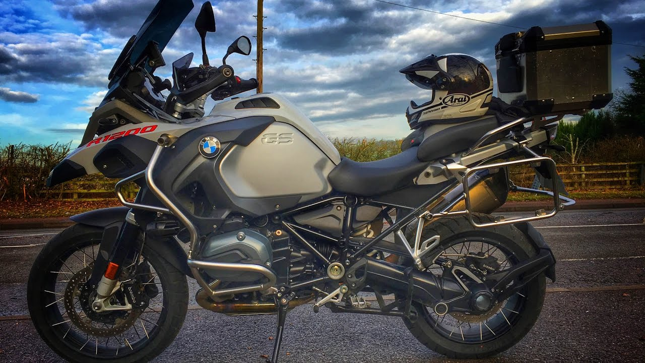 2017 BMW R1200 GS Adventure Review