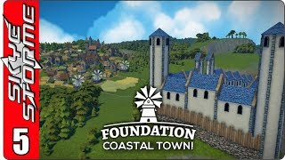 ►BUILDING AN EPIC CITADEL! - PART 1◀ Foundation Coastal Town Ep 5