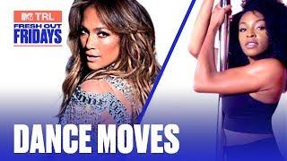 How To Master Jennifer Lopez's Pole Dance Moves From 'Hustlers' | #MTVFreshOut