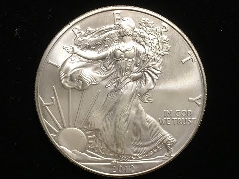 US One Dollar Silver 2012