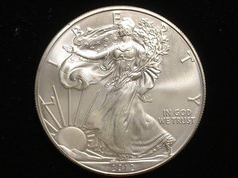 US One Dollar Silver 2012