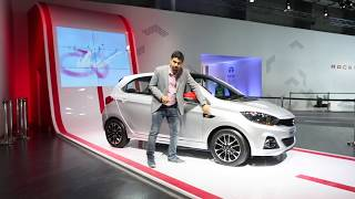 Tata Tiago JTP Sports &  Tigor JTP Sports Unveiled at Auto Expo 2018