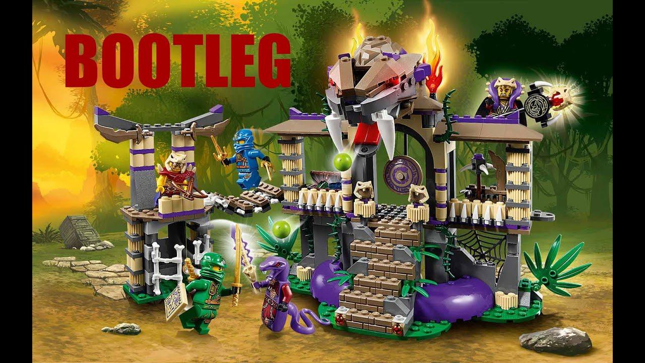 Lego 70749 ninjago enter the serpent sheng yuan bootleg - Serpent lego ninjago ...