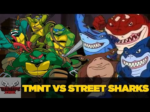 TMNT VS Street Sharks | DEATH BATTLE Cast