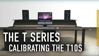 Calibrating the T10s to the T Series